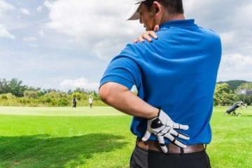 Les 5 douleurs les plus fréquentes chez les golfeurs