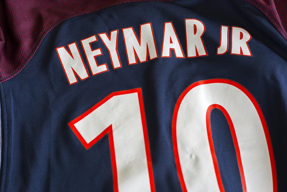 maillot de Neymar au Paris Saint Germain