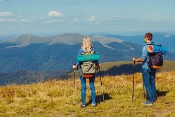 5 raisons d'utiliser des bâtons de randonnée