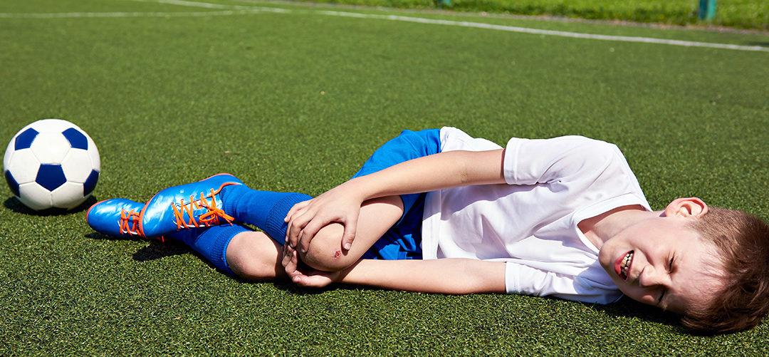 Les jeunes athlètes ont tendance à minimiser leurs blessures