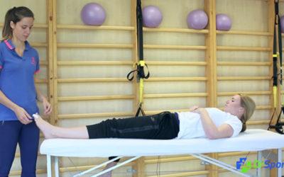 Comment réaliser un strapping pour une entorse d'un orteil (syndactylie) ?