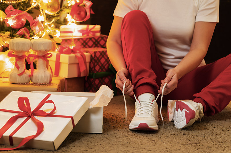 Il semblerait que le sport ne soit pas une des dépenses majeures pour les cadeaux de Noël, un peu plus d'un Français sur cinq comptant faire des achats dans ce domaine.