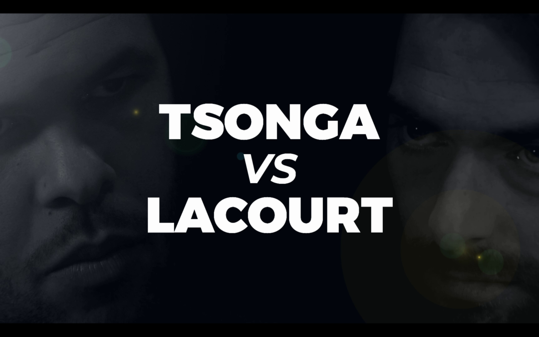 Duel entre Jo-Wilfried Tsonga et Camille Lacourt