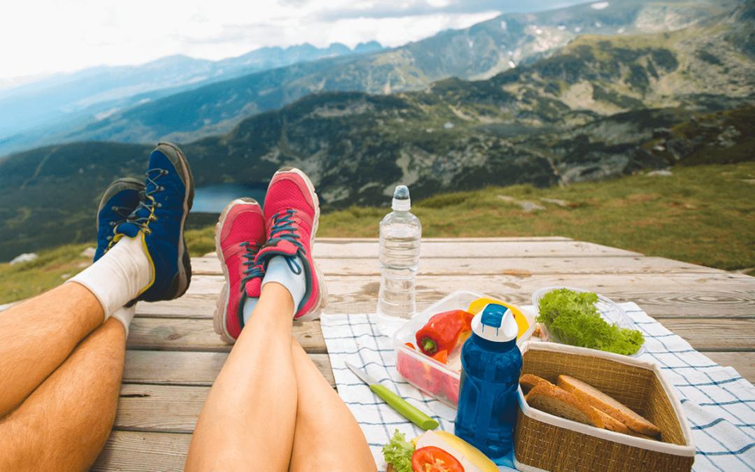 Le pique-nique parfait pour randonneurs et alpinistes