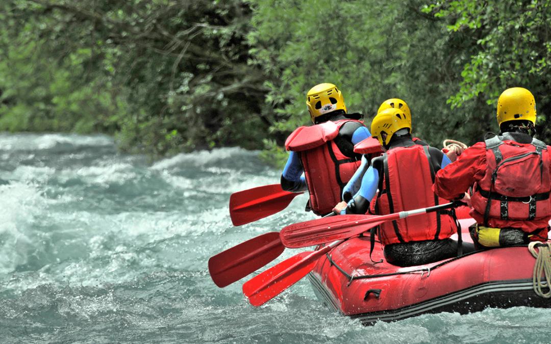 Pratique sportive en eau vive