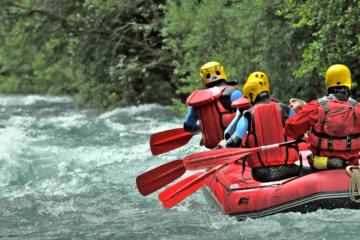 La pratique sportive en eau vive