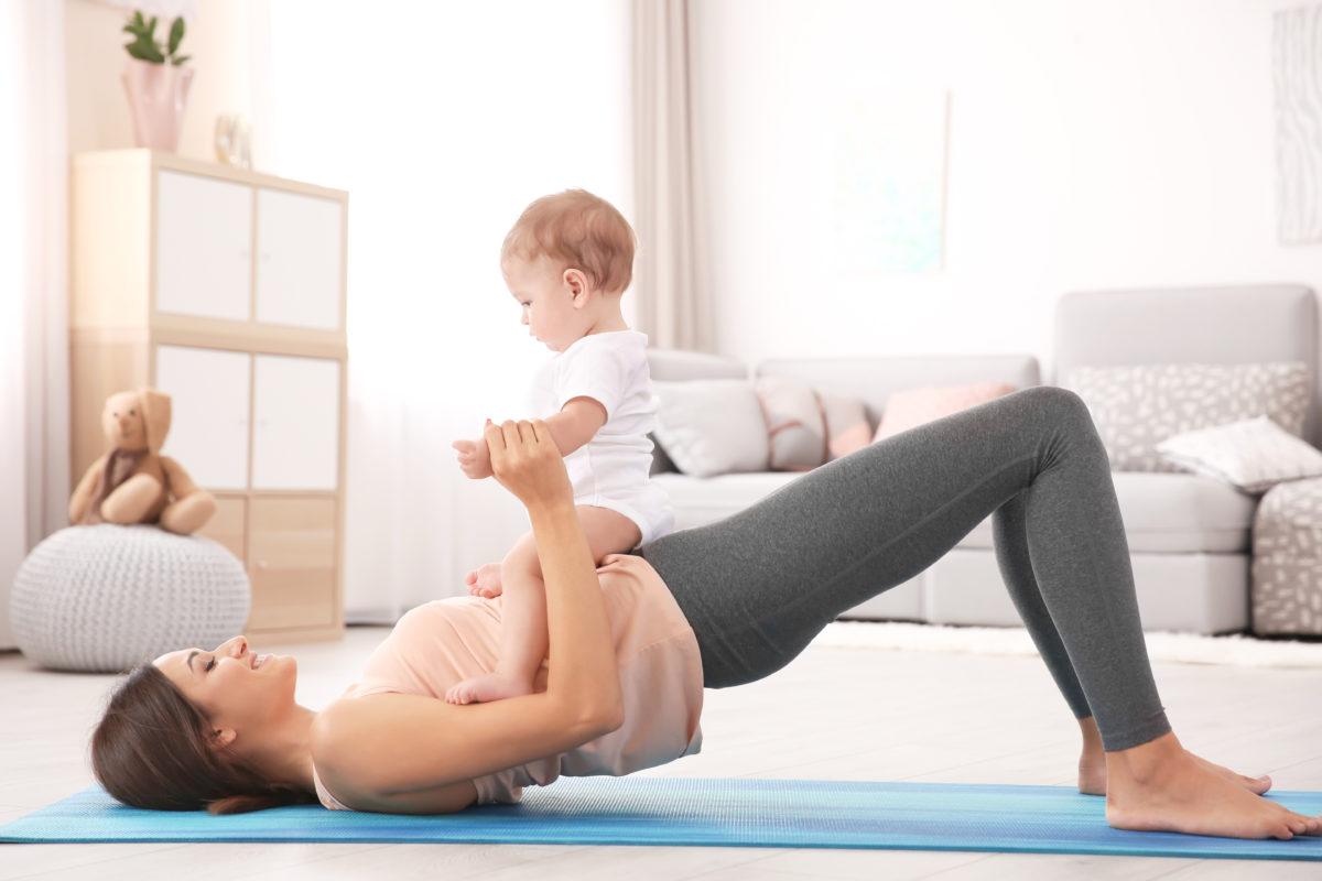 reprise du sport après accouchement
